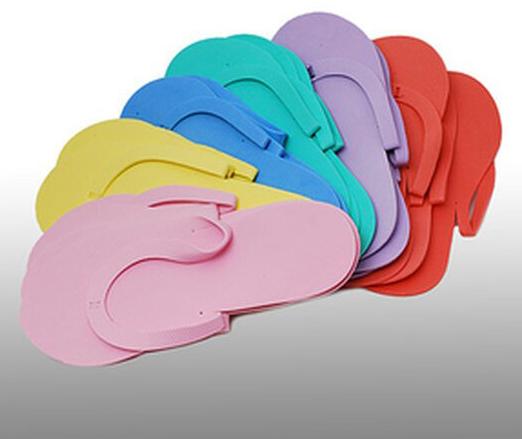 Sandales jetables en taille universelle 12 pièces