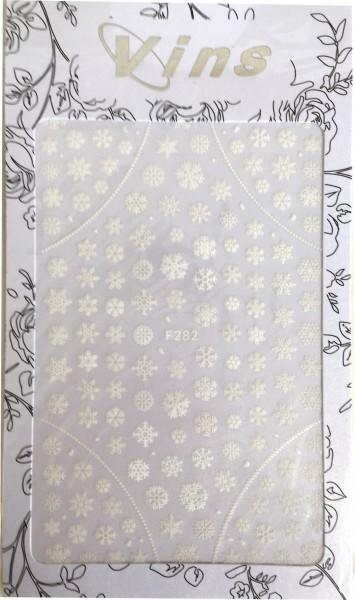 Nail art autocollant flocons de neige