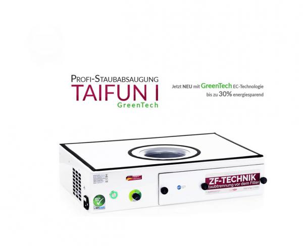 Aspirateur professionnel Taifun 1 GreenTech