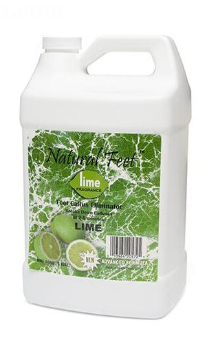 Éliminateur de callosités pour pieds naturels KDS, citron vert - 3,78 L