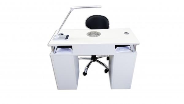 Table de manucure - Assise - avec aspiration de poussière