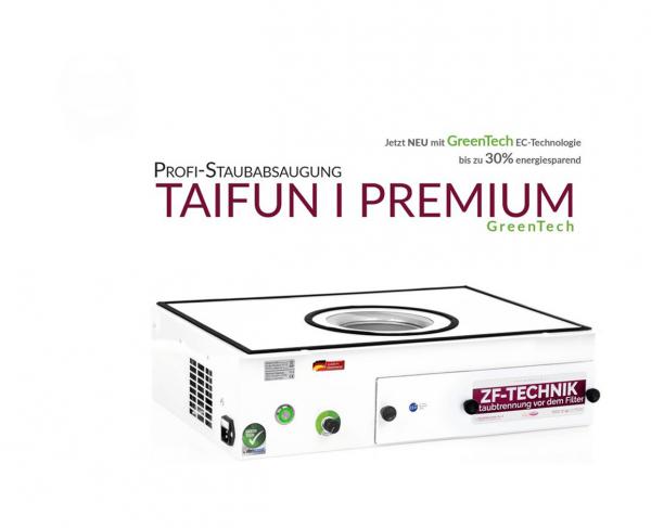 Aspirateur professionnel Taifun 1 Premium GreenTech