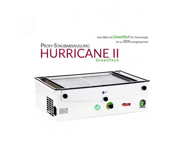 Aspirateur professionnel HURRICANE II GreenTech