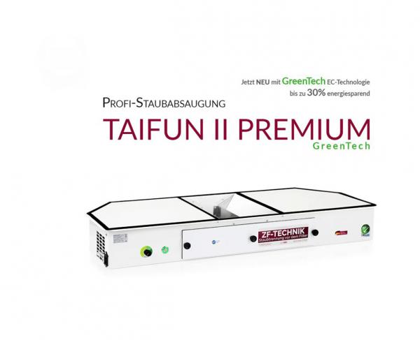 Système professionnel d'extraction des poussières Taifun 2 Premium GreenTech